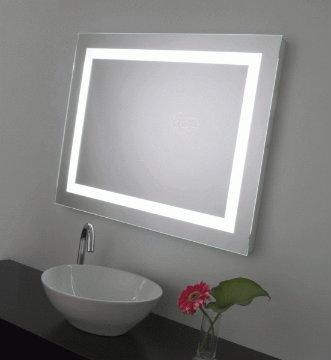 Neuesbad Spiegel mit umlaufender Beleuchtung