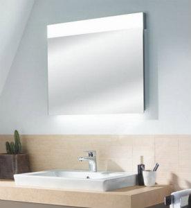Sanipa Lichtspiegel mit LED- und Waschtisch Beleuchtung