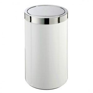 JOOP! CHROMELINE Wäschebehälter chrom weiß 010461002