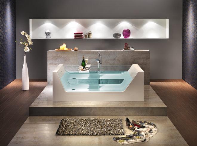 Freistehende Badewanne Pure 1810x810x430 mm weiß