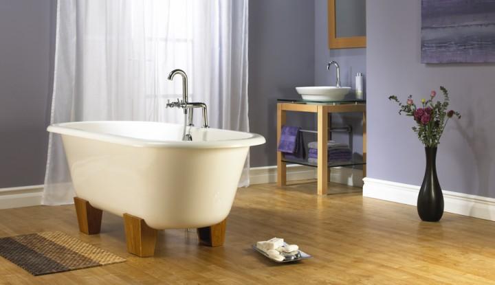 freistehende badewannen neuesbad magazin. Black Bedroom Furniture Sets. Home Design Ideas