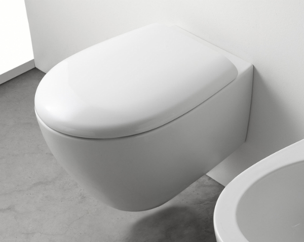 Globo Bowl+ Wand-WC 380x550 mm weiß