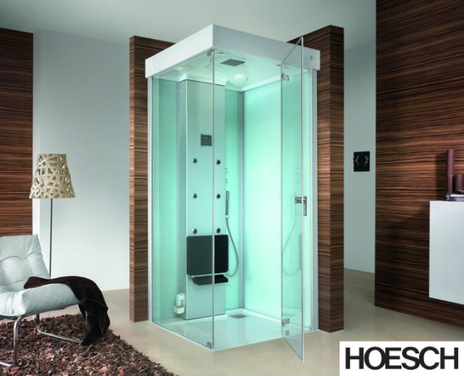 Hoesch Dampfbad SenseEase Quadrat 1000x1000 mm