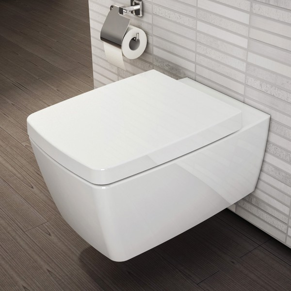VitrA Bad Metropole VitrAflush Wand-Tiefspül-WC spülrandlos