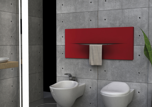 Caleido cut horizontal zweilagig Badheizkörper 1520x610 mm