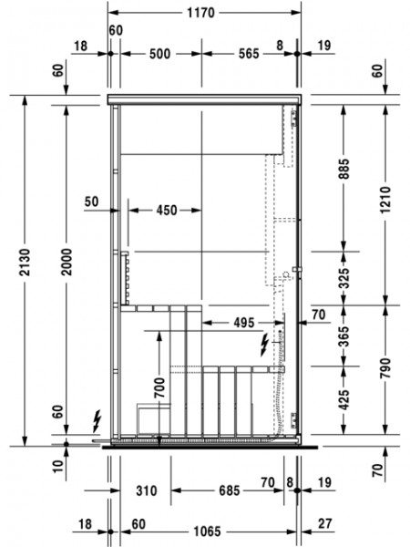 Duravit Sauna Inipi B Super Compact