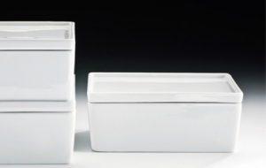 Decor Walther FB 6 Feuchttücherbox Porzellan weiß