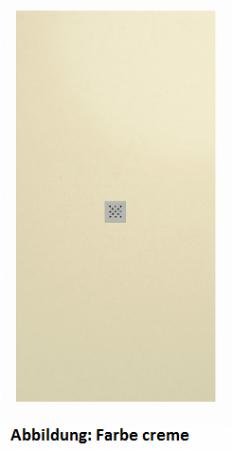 Fiora Elax flexible elastische Duschwanne Schiefertextur 100x180 cm