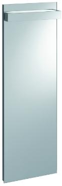 Keramag Lichtspiegelelement iCon xs Breite 370 mm Höhe 1100 mm Tiefe 44 mm