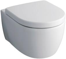 Keramag Wand-Tiefspül-WC iCon ohne Spülrand Breite 355 mm Tiefe 530 mm