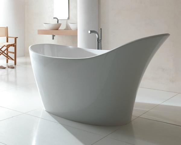 Victoria & Albert Amalfi freistehende Badewanne 1640x800 mm