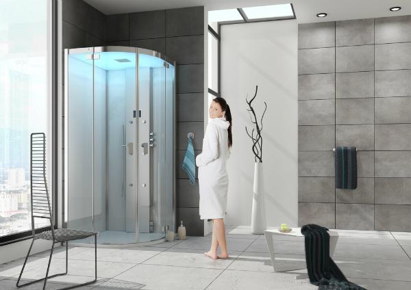 individuelle luxusduschen - neuesbad magazin, Moderne deko