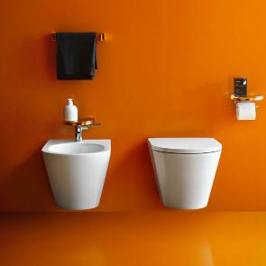 Laufen Wand Tiefspül-WC Kartell spülrandlos