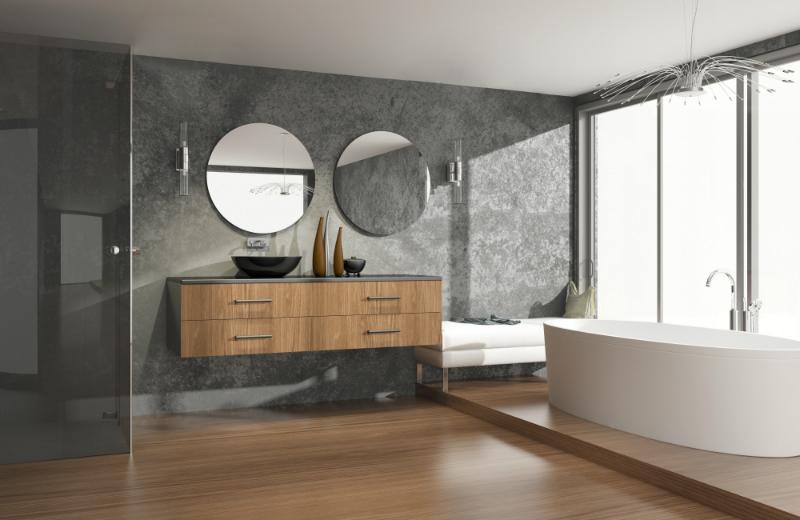 Badezimmermöbel  Badezimmermöbel aus Holz - neuesbad Magazin