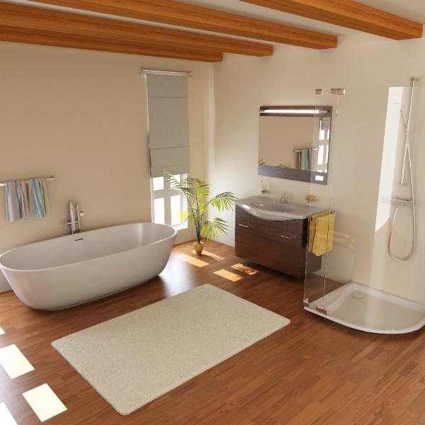 Badezimmermöbel aus Holz - neuesbad Magazin