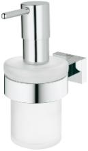 grohe-seifenspender-mit-halter-essentials-cube-40756-chrom-40756001