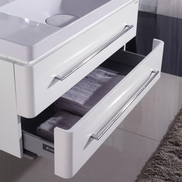 Neuesbad 4000 Badmoebelset Inklusive Waschtisch Unterschrank  Und Spiegelschrank