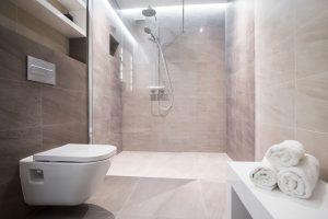 Badezimmer Deko für ein großes Bad