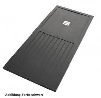Fiora Silex MIXTO Duschwanne 200 x 80 x 3 cm, Schiefer Textur, Form und Größe zuschneidbar