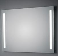 KOH-I-NOOR T5 Wandspiegel mit Seitenbeleuchtung, B: 140 cm, H: 60 cm