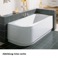 Bette Rechteck-Badewanne Form Comfort 3620, 160x75x42 cm