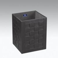 Koh-I-Noor ECOPELLE Abfallbehälter 22x28x22, schwarz, 2903BK