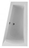 Acryl Badewanne Galia I Model A 1600x1000x675 mm, weiß