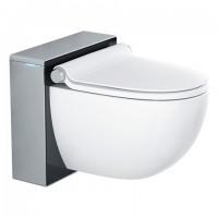 GROHE Sensia IGS Dusch-WC, Front: schwarz, Gehäuse: mattchrom, 39111LK0