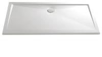 HSK Marmor-Polymer Rechteck Duschwanne 90 x 120 x 3,5 cm, weiss, ohne Schürze