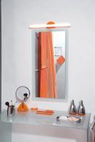 KOH-I-NOOR Cornice Molata 45609 Spiegel, hinten matt geschliffener Rahmen, B: 70 x H:90 cm