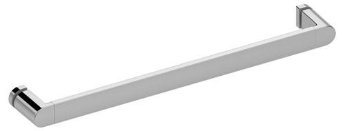 Keuco Duschtürgriff Elegance11608, m. Gegenplatten, verchromt, 500 mm, 11608010501
