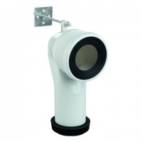 Grohe WC-Ablaufbogen 39457 vertikal 93,5 - 137mm, 39457000