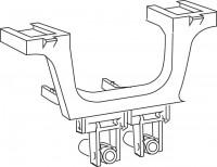 Mepa Umlenkarm für Betätigung, UPSK SCA12 - A21, 590908
