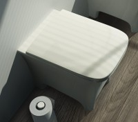 ArtCeram Cow Stand-Tiefspül-WC, B: 380, T: 520 mm, weiss glänzend