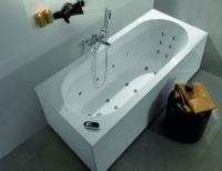 Villeroy & Boch Badewannenverkleidung United, Eckversion, UCXX, Farbe: Glossy White