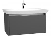 VitrA Waschtisch-Unterschrank T4, 830x430x420 mm Korpus Dunkelgrau, matt, 81165