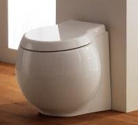 Scarabeo Planet bodenstehendes WC L: 50 B: 45 cm, Wandablauf