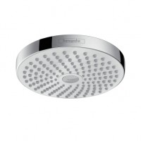 Hansgrohe Kopfbrause Croma Select S 180 2jet weiss/chrom, 26522400