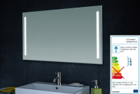 Neuesbad LED Wand Spiegel, B:800, H:600 mm