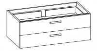 "Artiqua COLLECTION 413 Waschtischunterschrank zu ""Preciosa"" 133220 B:1250mm"