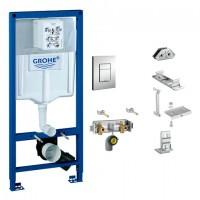 Grohe Starter-Set Rapid Pro 39067 für, WC / Waschtisch