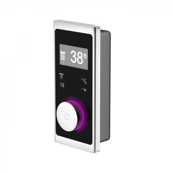 Steinberg Serie 390 iFlow - Vollelektronische Armatur mit Digitalanzeige, 4 Verbraucher, 3904645