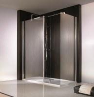 HSK Walk In Atelier Frontelement + festes Seitenteil + freistehende Seitenwand