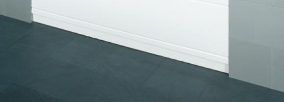 Bette Sockel für Comfort-Badewanne U170, 170 cm weiß, Nischeneinbau, U170-000