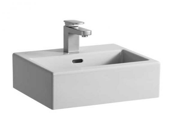 Laufen Handwaschbecken-Schale Living City 450x380, weiß, Unterseite geschliffen, 81143.0, 8114300001