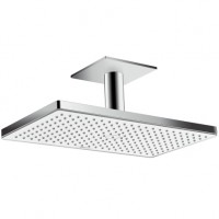 Hansgrohe Kopfbrause Rainmaker Select 460 1jet Deckenmontage weiss/chrom, 24002400