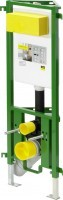 Viega WC-Eckelement ECO Plus 8141.2 in 980mm Stahl smaragdgrün