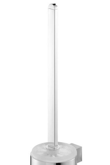 Neuesbad Futura chrom Ersatzstiel mit Bürste für Bürstengarnitur, Farbe: chrom