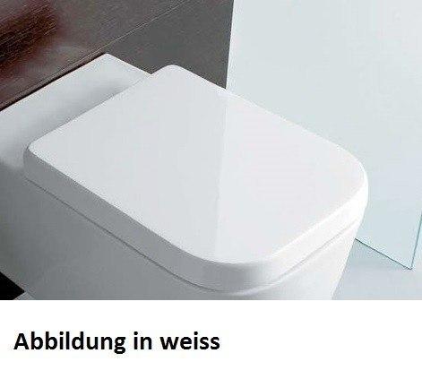 Stone WC-Sitz mit Absenkautomatik, SS026, schwarz matt SS026AR