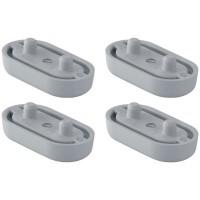 Geberit Ausgleichspuffer-Set erhöht für WC-Sitz zu Balena 6000 AquaClean 5/5000plus